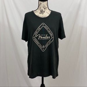 Lucky Brand Tee Shirt Fender Size Large